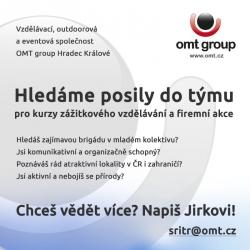 Chtěl by ses stát novou posilou našeho týmu?