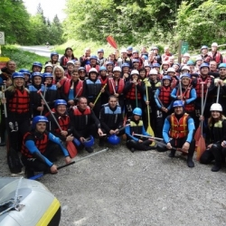 Rafting na Saalachu - Lofer - incentivní program