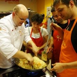 Teambuildingová aktivita - týmové vaření