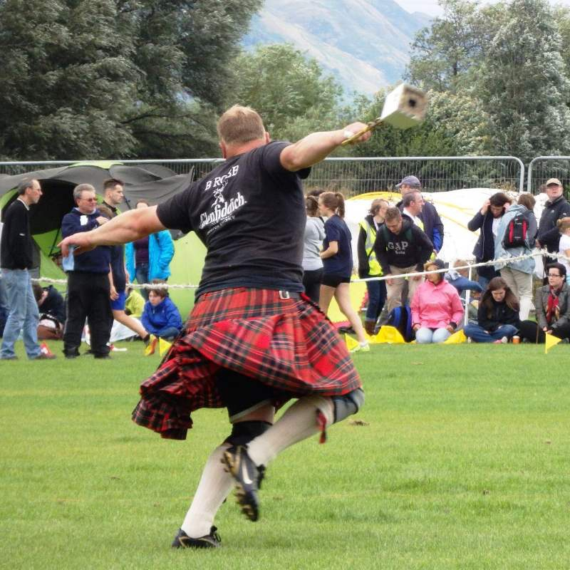 Scottish style corporate event