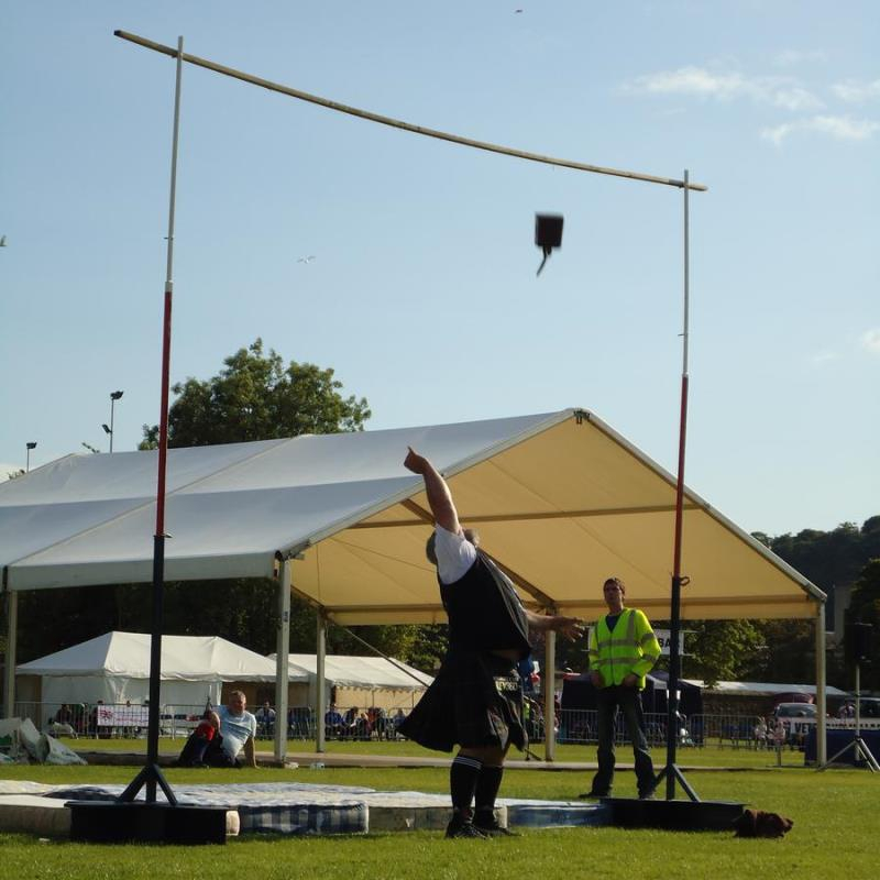 Highland games - anusual activities