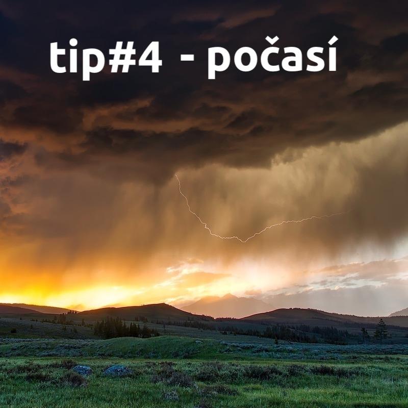 tip#4 Počasí na teambuildingové akci
