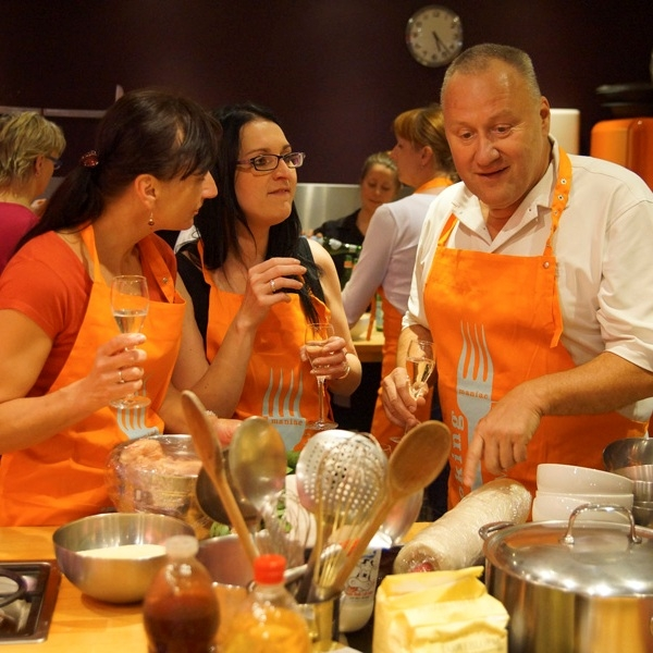 Týmové vaření nejen v Bruselu!