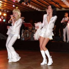 tématický firemní večírek - ABBA show