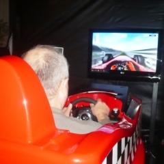 eventy a firemní akce - simulátor F1