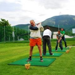 pořádání firemních akcí - golfová akademie