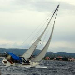firemní akce - jachting na moři