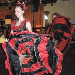 firemní večírek - kankánové tanečnice