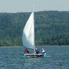 Orlík, Slapy a Máchovo jezero - katamarany a plachetnice