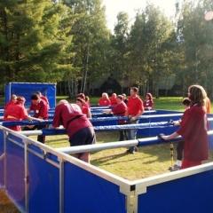 eventy a firemní akce - lidský stolní fotbal
