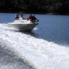 firemní akce Orlík a Slapy - motorové čluny a jachty