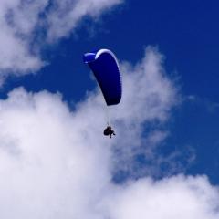 pořádání firemních akcí - tandemový paraglide