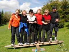 Teambuilding - týmová spolupráce