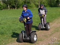 Teambuildingová aktivita - jízda na Segway