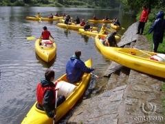 Teambuilding na vodě