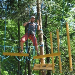 high rope activities