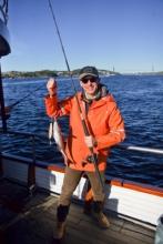 Bergen - rybářský úlovek