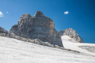 """Dachstein - třítisícová alpská """"střecha"""""""