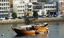 Tradiční dřevěné lodě DHOW